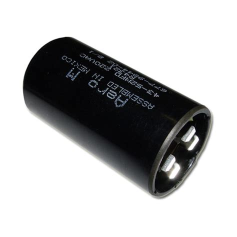 aero m motor start capacitor psu7265a aero m capacitor 72uf 165v application motor start 2020003064