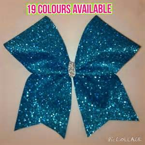 cheer bows uk glitter cheerleading bows