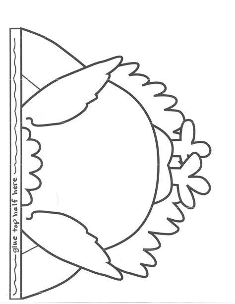 printable pattern of a turkey best photos of turkey disguise template printable tom