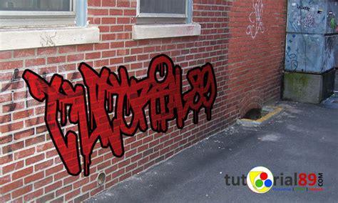 cara membuat outline graffiti cara membuat tulisan graffiti dengan photoshop tutorial