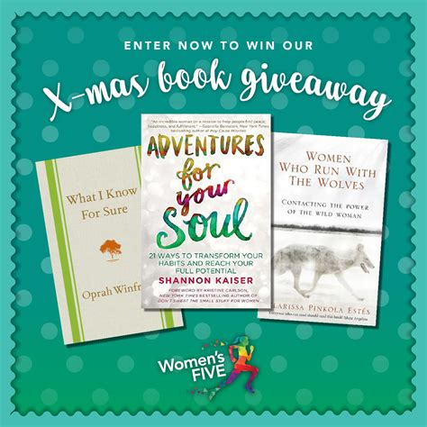Oprah Winfrey Christmas Giveaway 2017 - christmas time book giveaway women s five