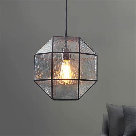 geometric pattern hanging light get on trend with these stunning geometric lights