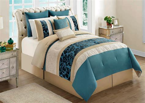 cannon 8 turquoise bedroom comforter set home