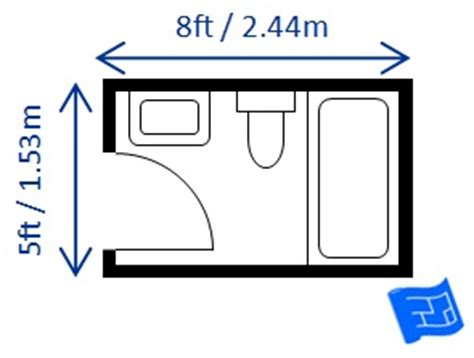 standard full bathroom size bathroom dimensions