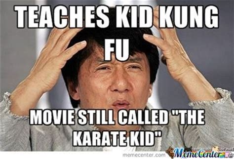 Kung Fu Meme - the new karate kid