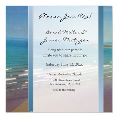 diy destination beach wedding invitation template 13 cm x