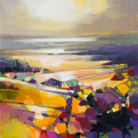 Abstract Landscape Uk Connections Abstract Landscape Painting By