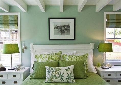 green wall bedroom ideas natural green color schemes for modern bedroom and