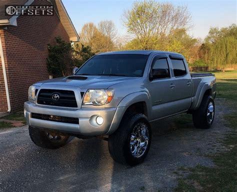 2008 Toyota Tacoma Rims Wheel Offset 2008 Toyota Tacoma Aggressive 1 Outside
