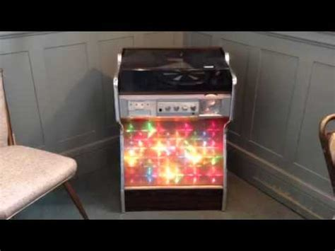 electrophonic record player cabinet vintage morse electrophonic jukebox stereo youtube