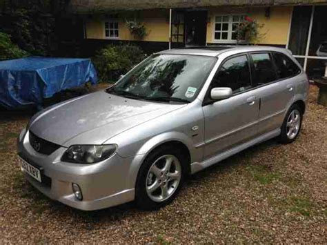 mazda 2002 323f sport silver low mileage car for sale