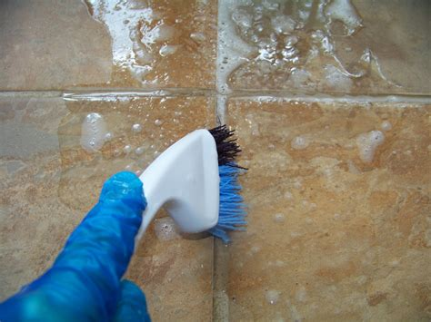 Cleaning Grout With Oxiclean The Ferrell Boys And Me Makeover Monday Grout Cleaning