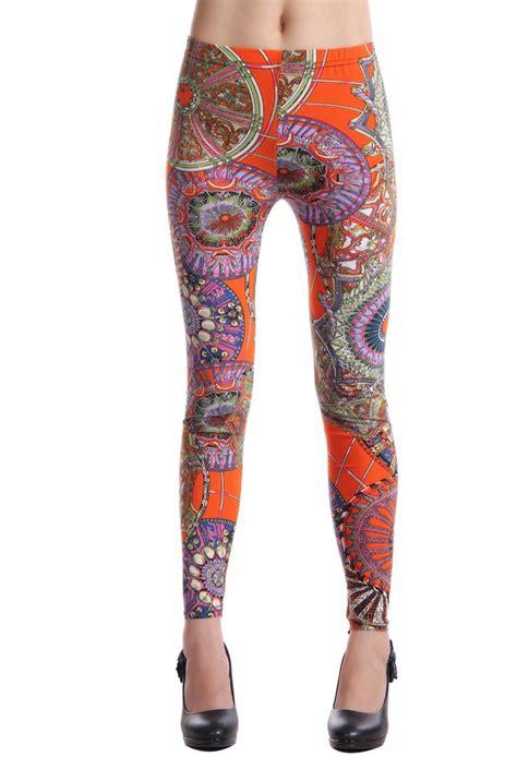 indian pattern leggings 17 best ideas about orange leggings on pinterest i