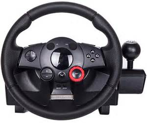 Steering Wheel Compatible Pc The Logitech Driving Gt Steering Wheel For