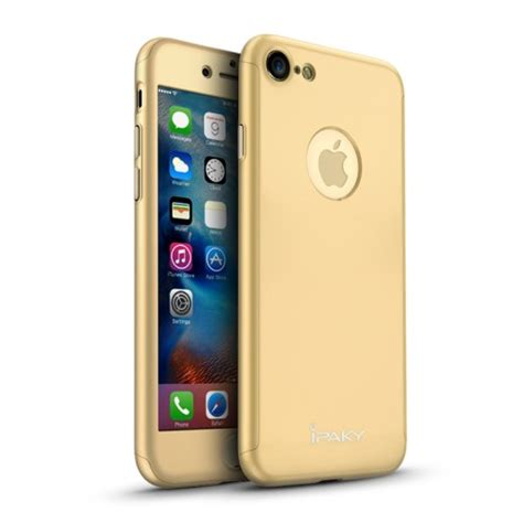 Ipaky 360 Protective Iphone 7 4 7 Inch Slim Ca ipaky protection skal sk 228 rmskydd f 246 r iphone 7 8 4 7 inch guld k 246 p h 228 r snabb