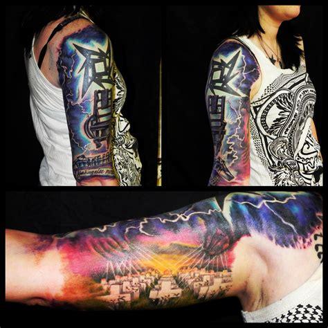 metallica tattoo metallica color jewelry piercings tattoos