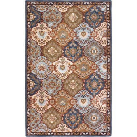 artistic weavers tapis camarillo bleu en 8 po x