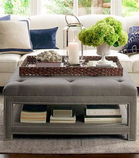 how to decorate an ottoman coffee table 25 best ideas about oversized ottoman on