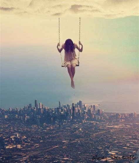 tumblr swing video city colorful fear fearless girl heights inspiring