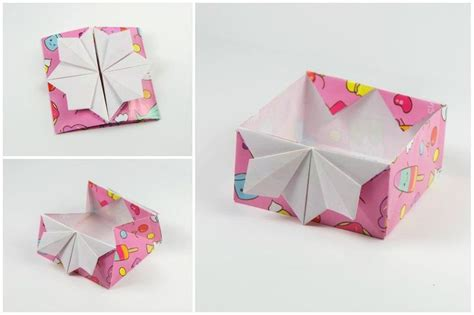Origami Japanese Box - 7457 best fold and cut images on paper