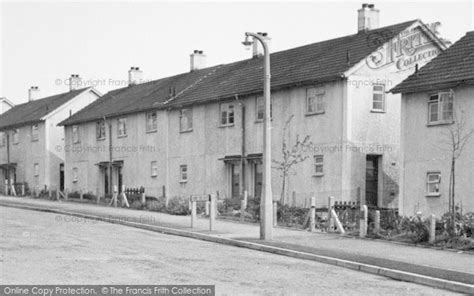 photo of killamarsh houses in cherry tree drive c 1960