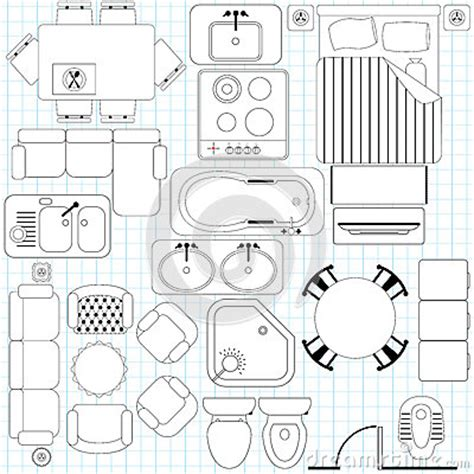 clipart furniture floor plan furniture clipart for floor plans interior design popular