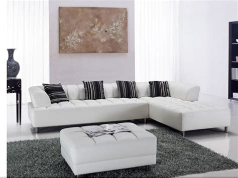 White Modern Sectional Sofas For Your Living Room Cute Modern Leather Sofa Sectional
