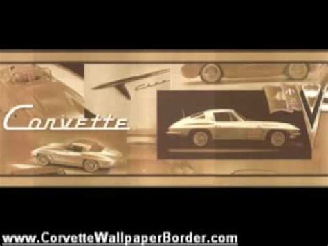 corvette wallpaper border chevy corvette wallpaper borders