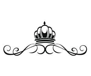decorative princess crown tattoo tattoo pinterest