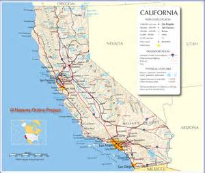 california map free large images