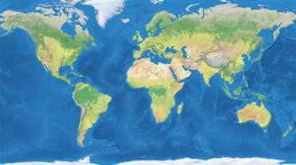 Image Of The World Map by World Map Flat Viewing Gallery