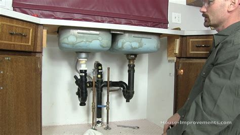 How To Remove Kitchen Sink Drain How To Remove A Kitchen Sink