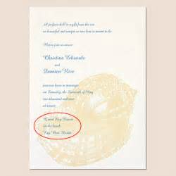 Wedding invitation wording beach wedding invitation