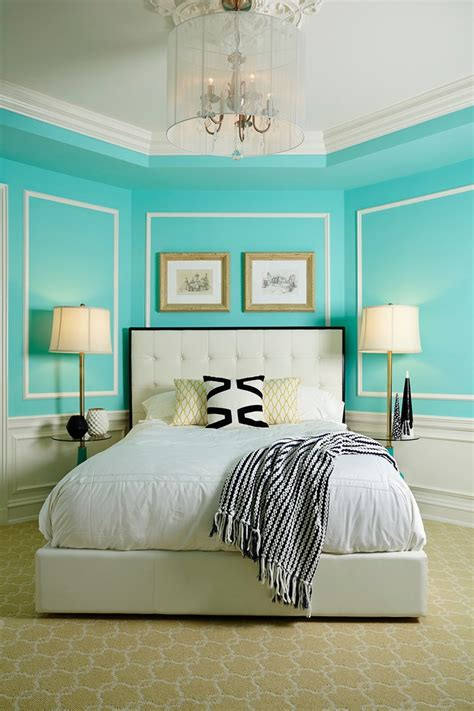 tiffany blue and black bedroom pretty tiffany blue bedroom decor with cozy patterned wallpaper