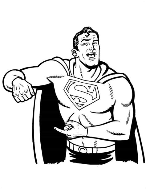 9 superman coloring pages jpg ai illustrator download