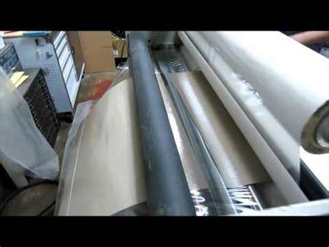 Mesin Laminating V Tech gbc pro tech orca i 60 industrial large format hotcold