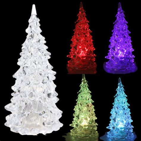 tabletop christmas tree with led lights led battery operated colour changing desk table top tree light in decoration