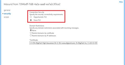 Office 365 X 509 Certificate Troubleshooting Tls Smtp Connections To Exchange