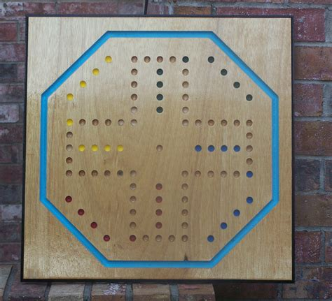 aggravation board template dual sided 24 inch 6 and 4 player aggravation wood
