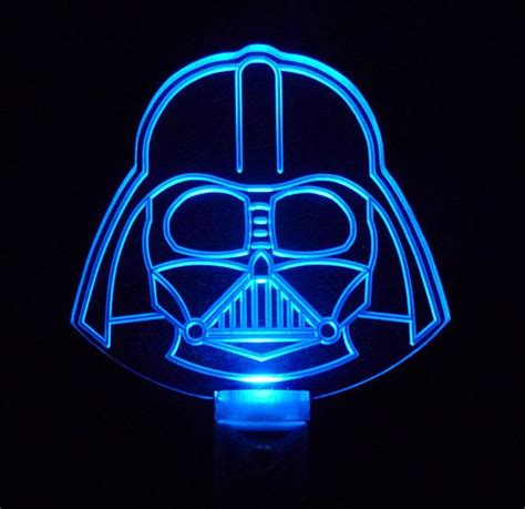 star wars night light star wars night light darth vader helmet by