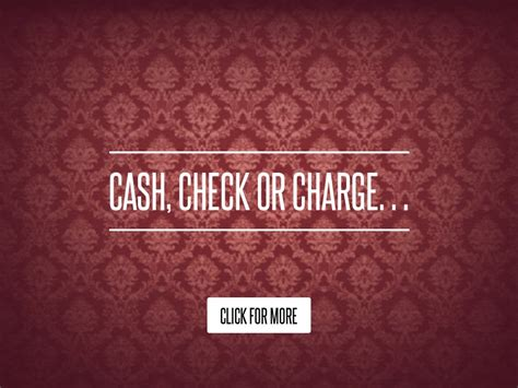 Check Or Charge by Check Or Charge Lifestyle