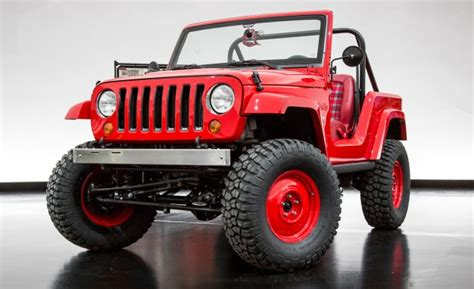 Jeep Pics Jeep Shortcut Concept Is A Wrangler Trimmed To Cj 5 Size