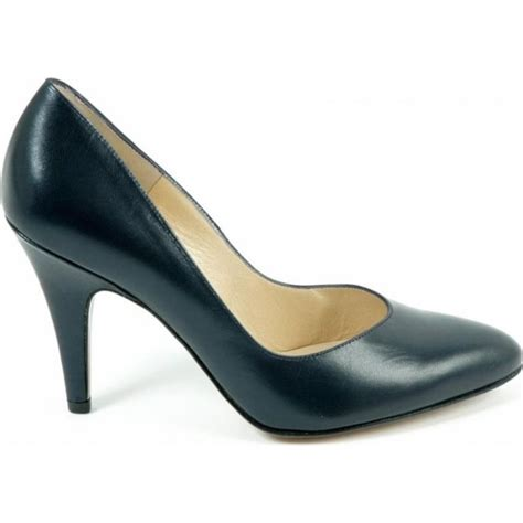 kaiser fernet navy court shoes leather