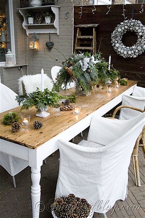 outdoor table ideas 12 winter table centerpiece ideas for christmas day tip