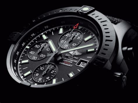 Breitling Black breitling colt chronograph automatic sportuhr