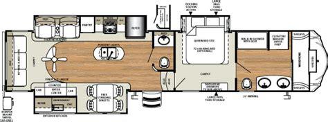 Forest River Fifth Wheel Floor Plans by Sierra 378fb Front Bath Rear Living Fifth Wheel