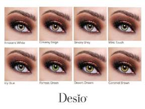 best colored contacts for desio color contacts chart contacts specifically made to