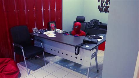 Spider Sitting At Desk by Just Sitting Here 60s Spider Your Meme