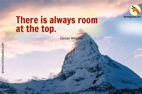 there is always room at the top quot there is always room at the top quot