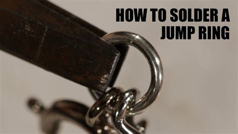 what are jump rings used for in jewelry how to solder a jump ring on jewelry